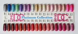 DND DC Platinum Glitter LED/UV Gel Polish - 0.6oz 18ml - Pick Any!