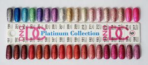 DND DC Platinum Glitter LED/UV Gel Polish - 0.6oz 18ml - Pick Any!