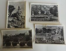 4 postcards of the USSR  1950s