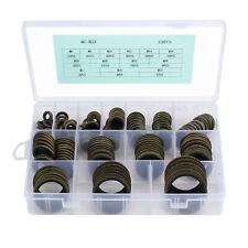 168 Pcs Rubber O-Ring Washer Assortment Set Gasket Hydraulic Plumbing Seal Kit