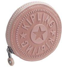 Kipling Aeryn Zip Coin Case in ROSE GOLD METALLIC