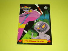 Pokemon Topps TV Animation Edition 1999