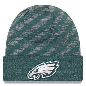 Philadelphia Eagles Men's New Era Green 2018 NFL Sideline TD Knit Hat