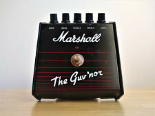 Marshall Guvnor Mk1 Overdrive Guitar Pedal Made in England