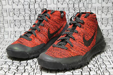 Nike Free Flyknit Chukka 3M WATERREPEL FSB Red/Black Boot 805093 603 WMN 9,MEN 8