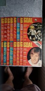 16 GOAL MAGAZINES from February  1973  No233  To July 1973  No256