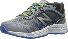 New Balance Kid's 860v5 Running Shoe, Grey/Blue 3.5 M US Big Kid
