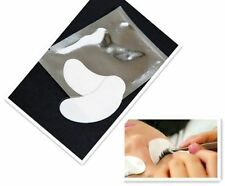 50 Paar Augenpads Wimpernverlängerung  Augen Gel Pads-Silber-Wimpern ExtensionsS