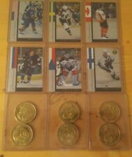 1997-98 Pinnacle Mint.  Minternational  Complete Set With Coins .