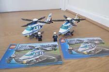 LEGO City-ELICOTTERI DELLA POLIZIA SET 7741 x 2