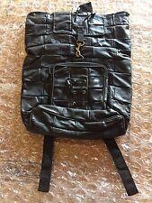 UNISEX Vintage Leather Backpack Travel Satchel Book Bag Rucksack Medium-Sized