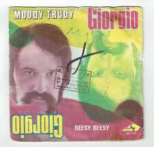 "GIORGIO Vinyl Record 45T 7"" MOODY TRUDY -REESY EASILY Disc AZ 10521 Fresh"