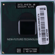 Intel Core 2 Duo T8300 2.4GHz 3MB 800 MHz Socket M,P CPU Processor 100% Tested