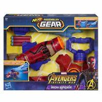 Nerf Assembler Gear - Marvel Avengers - Iron Spiderman Nerf Gun