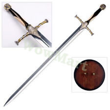 Game of Thrones 51'' Jaime Lannister's Sword Replica & Wood Display Plaque #1701