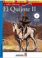 Libro El Quijote II (Audioclasicos) (Spanish Edition) by Miguel De Cervantes