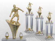 3er Säulenpokal SERIE FUSSBALL mit Gravur Säulenpokale Fussball große Pokale