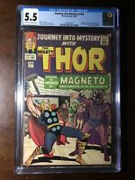 Journey Into Mystery #109 (1964) - 1st Magneto Crossover! - CGC 5.5 - Key!!!