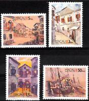 Macau Macao 1996 Seen By Estominho, Painting, Stamp set MNH