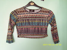 Unbranded Women's Fitted Cotton Blend 3/4 Sleeve Sleeve Tops & Shirts