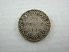1894 Newfoundland 20 cents silver
