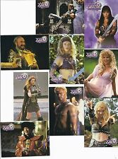 Xena: Warrior Princess : Series 2 Complete base card set.
