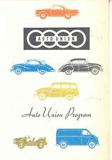 1958 DKW Auto Union  Sales Brochure Saxomat mw3097-EMMVO2