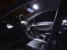 White LED Interior Lights and License Plate Lights kit 04-08 Acura TSX 8 pcs kit