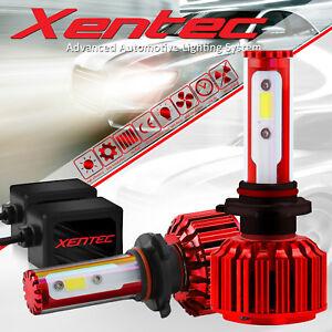 Xentec LED Headlight High Bulb Kit 9005 HB3 6K for Jeep Grand Cherokee Commander