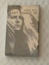 VINCE NEIL CAN'T CHANGE ME CASSETTE SINGLE RARE SEALED NEW B/W YOU'RE INVITED
