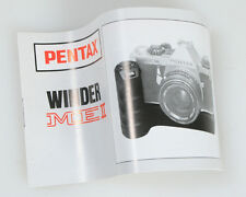 PENTAX WINDER ME II MANUAL