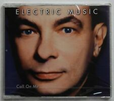 Electric Music Call On Me 1998 Picture CD Still Sealed! Synthpop