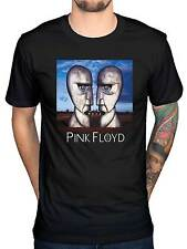 Official Pink Floyd Division Bell Heads T Shirt Rock Dark Side Of The Moon Punk