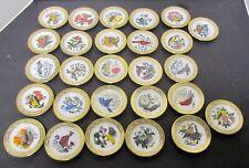 Franklin Mint Set State Songbirds & Flowers Mini Plates Ltd Ed 1979 Your Choice