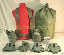 USGI Lot Canteen Cup Ammo Pouch Scent Bag M Web Belt VG