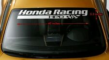 Honda Racing HPD Decals Windshield Banners Car Stickers JDM