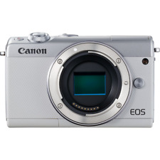 B - Canon EOS M100 Digital Camera Body Only: WHITE