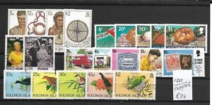 SOLOMON ISLANDS @ Year 199  Complete Used @ Sol.13