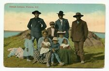 Canada / Canadian Indian - BC Victoria - 1914 Siwash Indians - Used Postcard