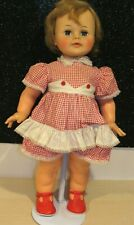 "Vintage Kissy Doll Ideal Toy Co K-21-L Lovely 1960s 22"" Original Dress Lovely"