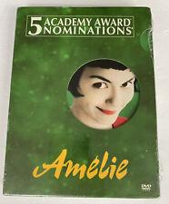 Amelie (2001 Dvd) 2 Disc Set Special Edition Audrey Tautou Mathew Kassovitz New