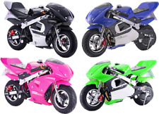 MotoTec GBmoto Gas Pocket Bike 40cc 4-Stroke Age12+ Mini MAKE OFFER!!