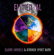 ELAINE SAMUELS & KINDRED SPIRIT BAND – Elemental SEALED CD 2019 UK FOLK PROG