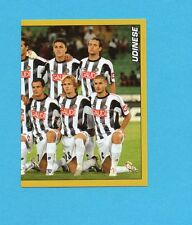 PANINI CALCIATORI 2007-2008- Figurina n.458- SQUADRA/TEAM DX  - UDINESE - NEW