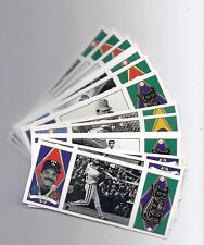 1993 UPPER DECK BAT TRI-FOLD - FINISH YOUR SET - LOW SHIPPING RATE