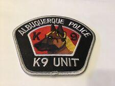 ALBUQUERQUE  POLICE K9 UNIT PATCH