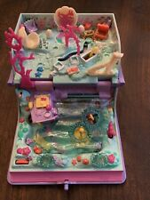 Polly Pocket Sparkling Mermaid Adventure Enchanted book  Bluebird