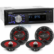 Boss 508UAB Single DIN Bluetooth CD Multimedia Car Stereo 4 6 5