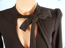 DVF Diane Von FURSTENBERG Ascot BOW Wiggle DRESS 6!