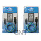 2X NEW Rechargeable Battery for PS3 Controller Replacement & Charging Cable